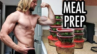 How To Meal Prep - Easy Beginner's Guide! | Buff Dudes Cutting Plan P1D4