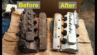 Cleaning & Restoring Engine Parts - Valve Covers and Intake