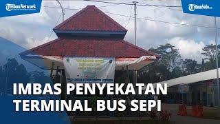 Imbas Larangan Mudik, Terminal Tipe B Penggung Boyolali Sepi Melompong, Bus Jarang Singgah