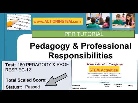 Essentials Tips for PPR Test - EC-12 Practice Test (160) - Pearson ...