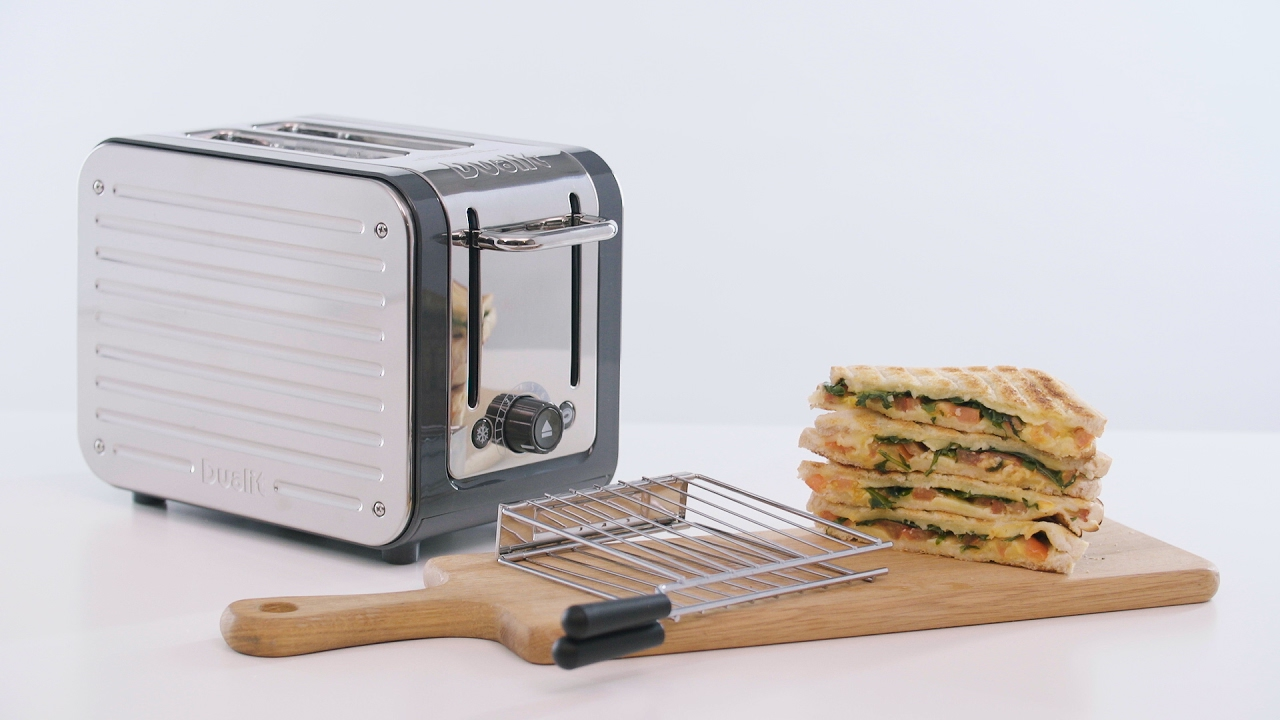 How to make a toasted sandwich with the Dualit Architect Toaster and Sandwich Cage  preview