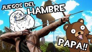 Minecraft | FOREVER ALONE EN LOS JUEGOS DEL HAMBRE | Gente Desnuda Everywhere