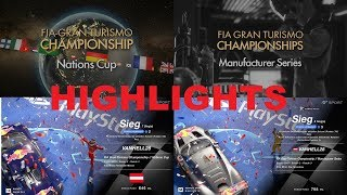 GT Sport Highlights FIA Championships Nations Cup & Manufacturer Series Season 2 Round 3 Win / Sieg