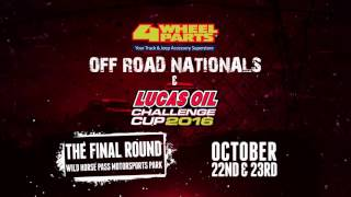 Lucas Oil Off Road Racing Series Challenge Cup 2016