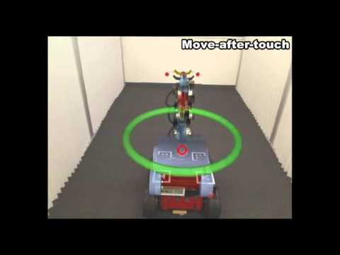 TouchMe: An Augmented Reality Based Remote Robot Manipulation