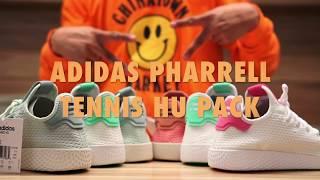 adidas pharrell pw tennis hu revisione / in piedi più popolare video