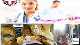 Now Special Medivic Air Ambulance from Kolkata to Delhi at Low Rate