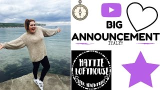 Can We Stay Here Forever? ft  Exciting Announcement | Hattie Lofthouse