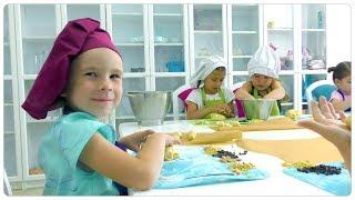 Кулинарные мастер-классы для детей в Сочи.