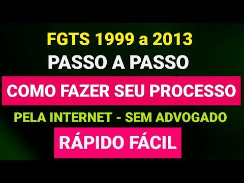 PASSO A PASSO PROCESSO DO FGTS SEM ADVOGADO