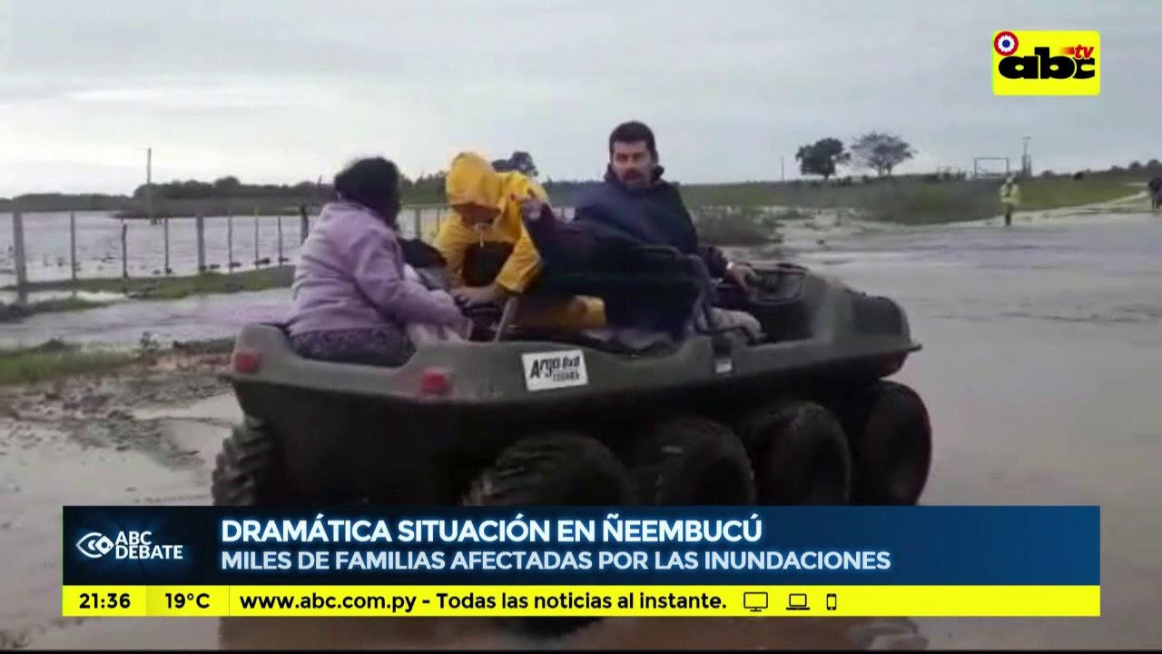 Dramática situación en Ñeembucú