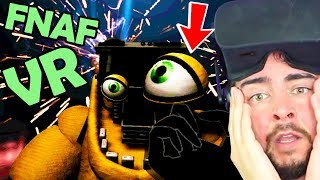 FNAF VR: FIXING GOLDEN FREDDY! Help Wanted... I'm Crying (Five Nights at Freddy's VR ENDING)