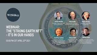 """Webinar: The """"Strong Earth NFT"""" – It's in Our Hands"""