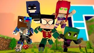 Minecraft : JOVENS TITÃS !! - Aventuras Com Mods #53