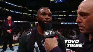 UFC 228: Tyron Woodley and Darren Till Octagon Interviews