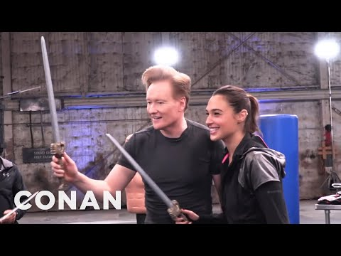 Jak se natáčel trénink s Wonder Woman