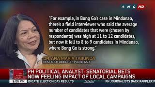 Villar, Poe Share Top Spot In Latest Pulse Asia Survey   ANC
