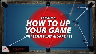 Billiards Tutorial: How to 'Up' your game!!! (pattern play & safety)