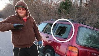 Can You Break a Car Window By Punching It?