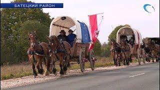 Участники проекта «Титаны в пути» спустя 2 месяца после старта добрались до Новгородской области