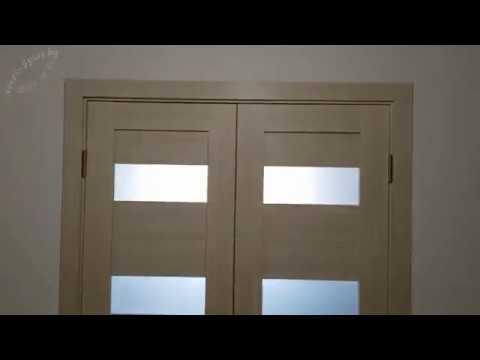 Видео Двери Portas S22 S23 лиственница крем