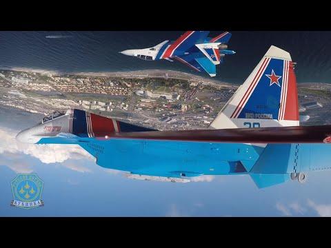 Russian Knights Aerobatics Team Take to the Skies