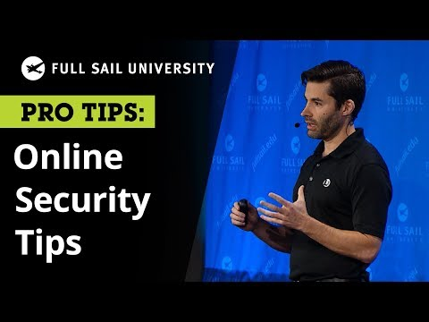 , title : 'Online Security: Professional Tips to Protect Your Personal Information | Full Sail University