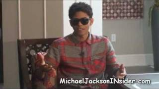 B Howard interview-Is he Michael Jackson's son?  More!