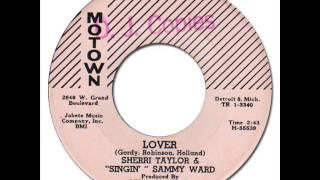 """SHERRI WARD  """"SINGIN'"""" SAMMY WARD - Lover [Motown 1004] 1960"""