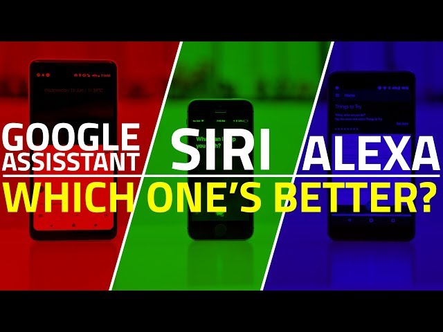 Siri vs Google Assistant vs Alexa: Which Is the Smartest Virtual