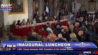 Inaugural Luncheon PLUS Donald Trump Speech