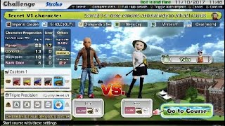 JOT381 EVERYBODYS GOLF EVE SECRET VS CHARACTER FOR CONDOR PS4 GAMEPLAY