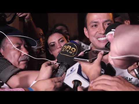 DECLARACIONES DE MAURICIO AGUILAR NUEVO GOBERNADOR DE SANTANDER - ORONOTICIAS.TV