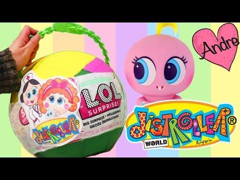 Bola gigante DIY de Distroller   Muñecas y juguetes con Andre para niñas y niños