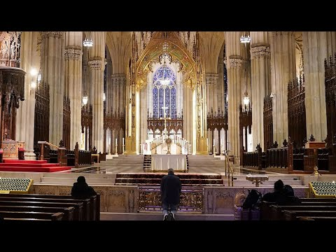 Watch Live: Palm Sunday service at NYC's St. Patrick's Cathedral