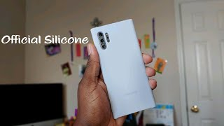 Samsung Galaxy Note 10 Plus Official Silicone Case Review