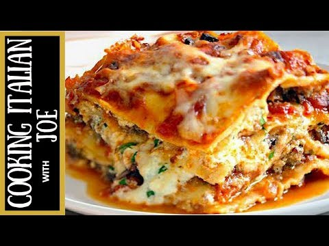 How to Make Lasagna with Authentic Bologense Sauce Cooking Italian with Joe