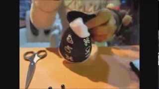 臺北市政府環境保護局★環保手工藝教學「手工襪子娃娃」★