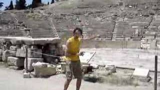 Mikey at Theater of Dionysus