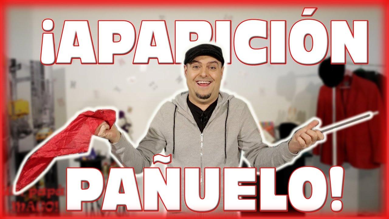 TRUCO DE MAGIA | APARICIÓN DE UN PAÑUELO | APRENDE MAGIA | Is Family Friendly