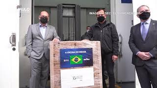 Atraso de entrega de IFA chinês pode atrapalhar cronograma de vacinação no Brasil em junho.