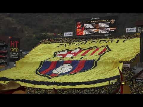 """RECIBIMIENTO BARCELONA SC CLASICO 2O DE OCTUBRE / 2019"" Barra: Sur Oscura • Club: Barcelona Sporting Club"
