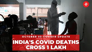 Coronavirus update: Total covid deaths in India cross 1 lakh on Oct 3 - Download this Video in MP3, M4A, WEBM, MP4, 3GP