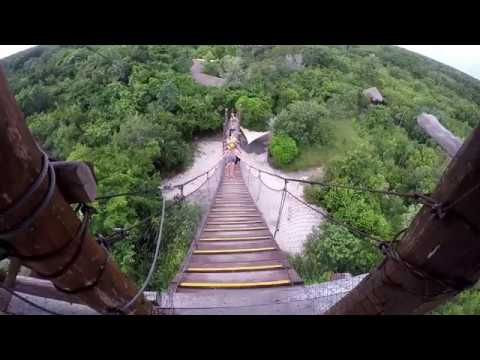 JUNGLE MAYA PARK /NOHOCH NAH CHICH / ZIP LINE – MEXICO / RIVIERA MAYA 2016