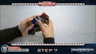 Transformers Optimus Prime Voyager MechTech Transformations | Instructional Video