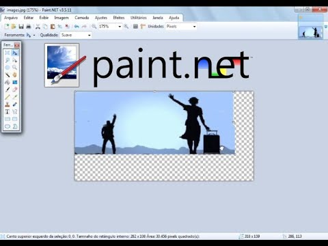 Paint.net - Diminuir ou Aumentar o tamanho sem distorcer