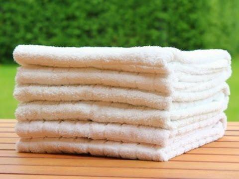 Handtücher dekorativ falten - perfekt wie im Hotel