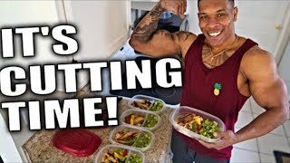MY CUTTING DIET: Lunch Meal Prep for the WEEK!