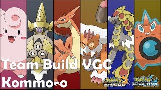 Team Build VGC | E-07 | Kommo-o Y Clefairy
