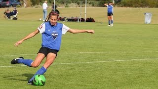 Zoe Hasenauer Soccer Highlights July 2015